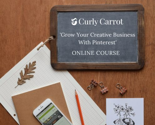 Competition and free Pinterest downloads by Curly Carrot