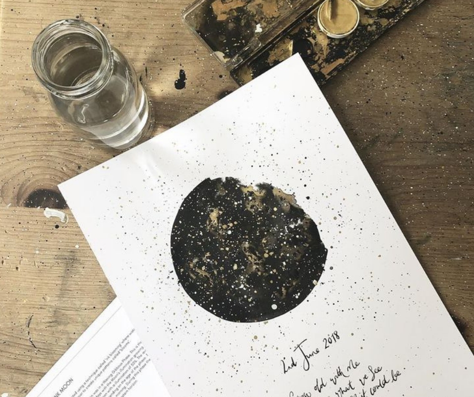 Creative Chat with Curly Carrot - Emma Waylett from Lovely Ink - brushlettering, ink illustrations and prints