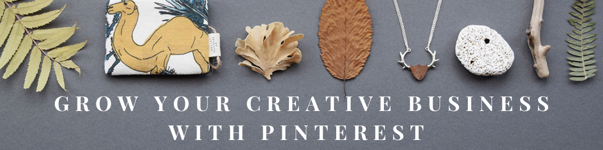 Grow Your Creative Business With Pinterest online course by Curly Carrot