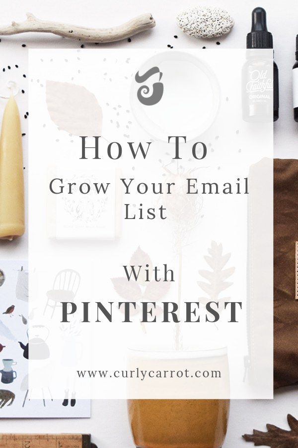 How to grow your email list with Pinterest