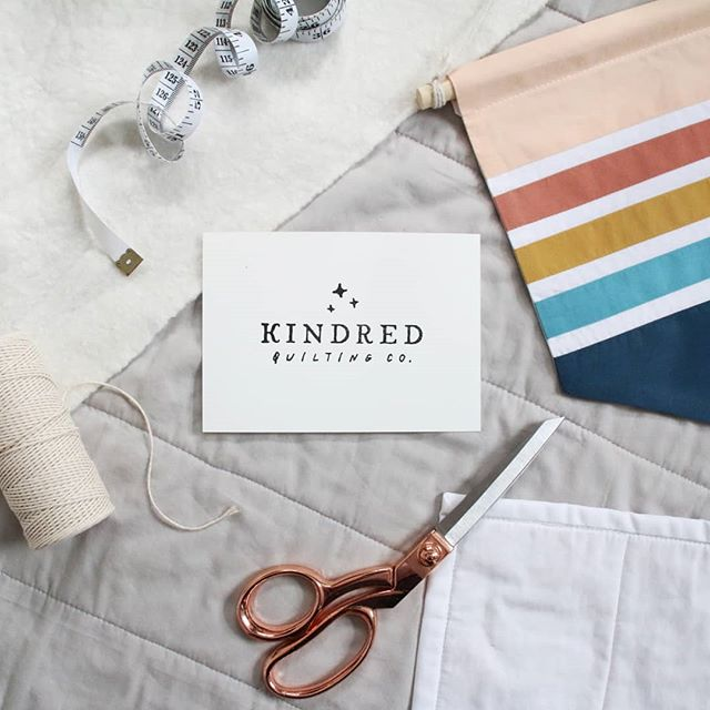 Creative Chats by Curly Carrot with Kayleigh Excell from Kindred Quilting | Branding
