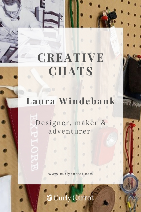 Creative Chats by Curly Carrot with Laura Windebank from Cubbkids