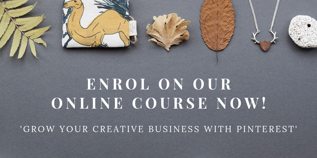 Grow Your Creative Business With Pinterest - Online Course by Curly Carrot