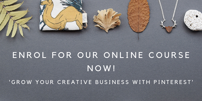 Grow Your Creative Business With Pinterest Online Course