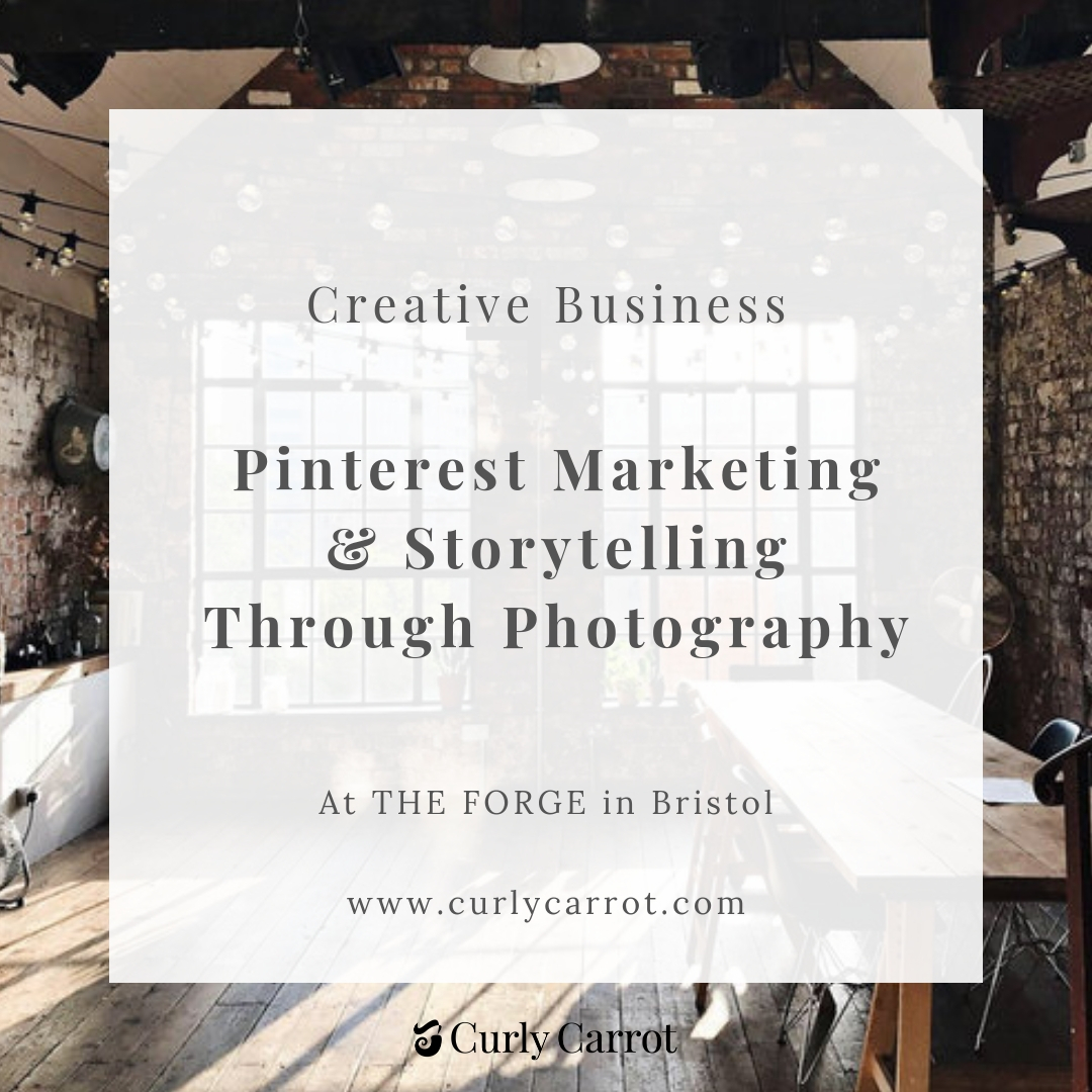 Pinterest Marketing for Creative businesses - Workshop at the Forge