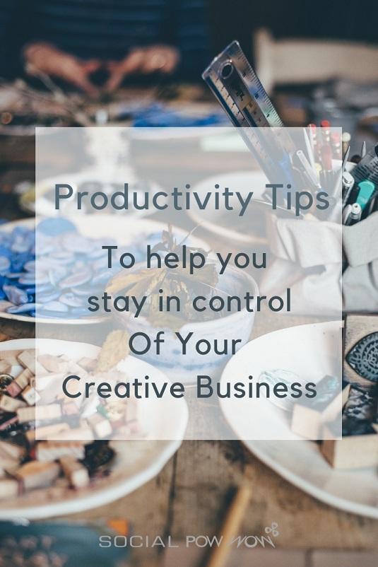 Productivity Tips To help you stay in control Of Your Creative Business