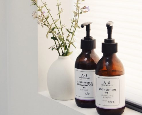 Product photography of beauty products for The Grain Store by Dorte Januszewski