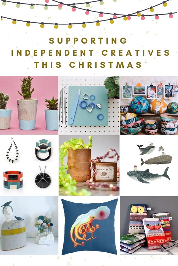SUPPORTING INDEPENDENT CREATIVES THIS CHRISTMAS