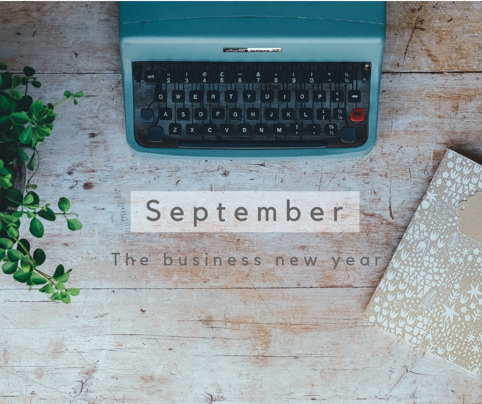 September - the business new year